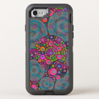 Psychedelic Floating Bubbles OtterBox Defender iPhone 7 Case