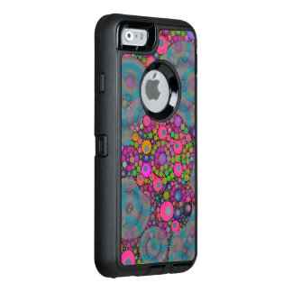 Psychedelic Floating Bubbles OtterBox Defender iPhone Case