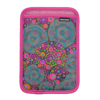 Psychedelic Floating Bubbles Sleeve For iPad Mini