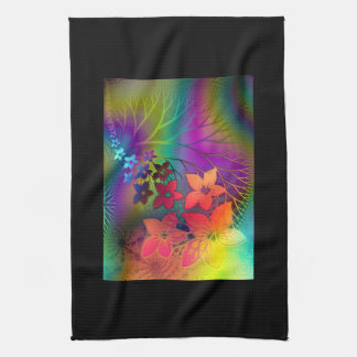 Psychedelic Floral Towel