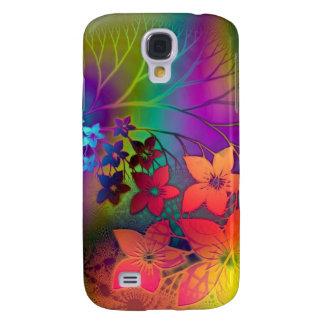 Psychedelic Floral Samsung Galaxy S4 Case
