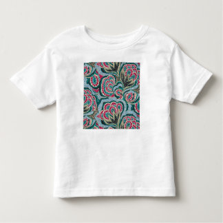 Psychedelic Floral with Glitter Effect Toddler T-shirt