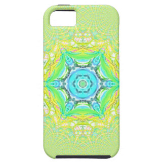 Psychedelic  flourescent  funky pattern. iPhone SE/5/5s case