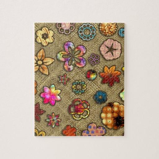 Flower Baskets Crossword Clue : Psychedelic flower basket weave puzzles