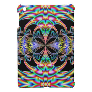 Psychedelic Flower Fractal Cover For The iPad Mini