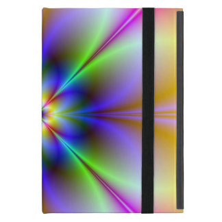 Psychedelic Flower iPad Mini Case & Kickstand