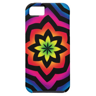 Psychedelic Flower iPhone 5 Case