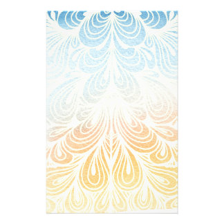 Psychedelic Flower Petals Stationery