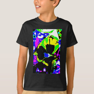 Psychedelic Flower Photo T-Shirt