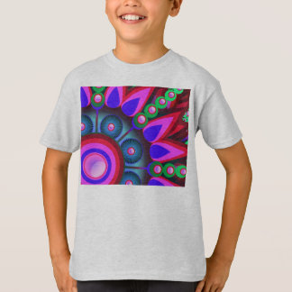 Psychedelic Flower Power Art T-Shirt