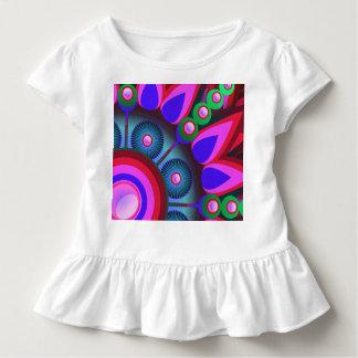 Psychedelic Flower Power Art Toddler T-shirt