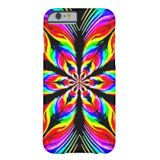 Psychedelic Flower Theory Airbrush Art Barely There iPhone 6 Case