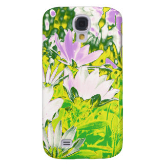 Psychedelic Flowers Again Samsung Galaxy S4 Cover