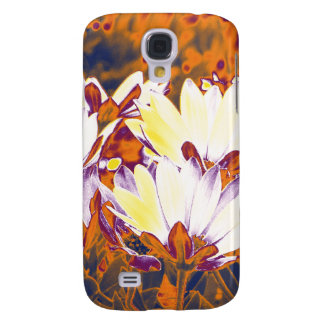 Psychedelic Flowers Repeated Galaxy S4 Case