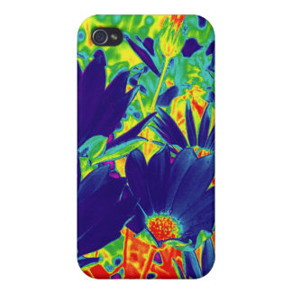 Psychedelic Flowers Too iPhone 4/4S Cover