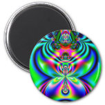 Psychedelic Flutterby Magnets