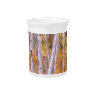 Psychedelic Forest Drink Pitcher