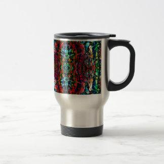 Psychedelic Forest Travel Mug