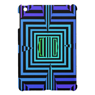 Psychedelic Four Leaf Clover - Casino Art Cover For The iPad Mini