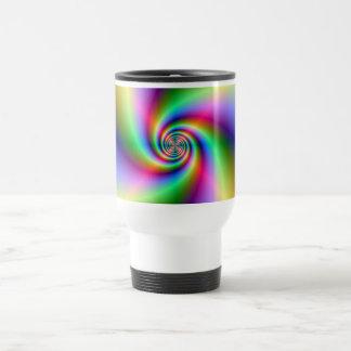 Psychedelic Four Wind Spiral Mug