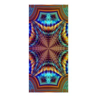 Psychedelic Fractal Bookmarks Rack Card