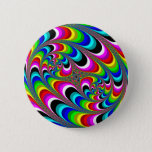 Psychedelic - Fractal Button