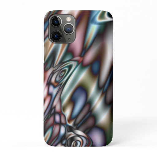 Psychedelic Fractal iPhone 11 Pro Case