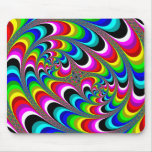 Psychedelic - Fractal Mousepad