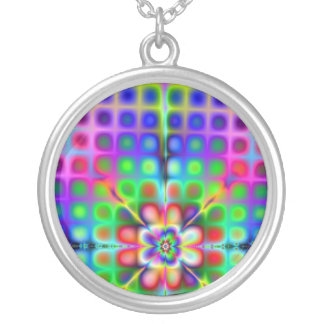 Psychedelic Fractal Necklace