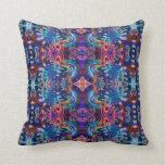 Psychedelic Fractal Pillow Design R5K4A