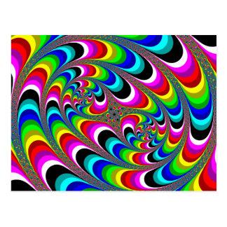 Psychedelic - Fractal Postcard