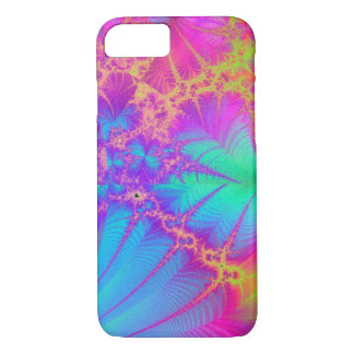 Psychedelic Fractal Rainbow iPhone 7 case