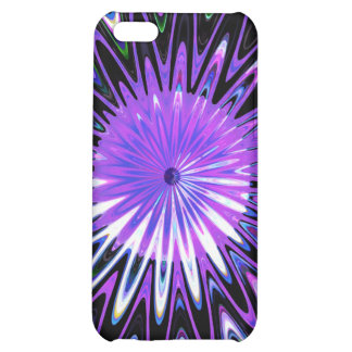 Psychedelic Fractal Spiral Decorative Abstract Art iPhone 5C Covers