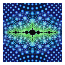 Psychedelic Fractal Wild Decorative Abstract Art Photo Art