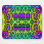 Psychedelic Fruit Loops Mousepad