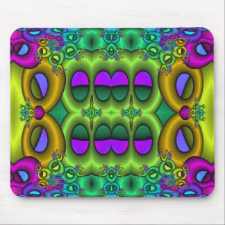 Psychedelic Fruit Loops Mouse Pad