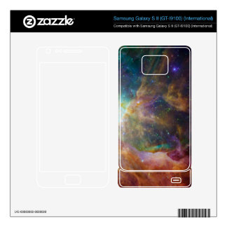 Psychedelic Galaxy Stars Rainbow Hipster Samsung Galaxy S II Skin