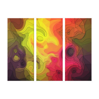 Psychedelic Gallery Wrap Canvas