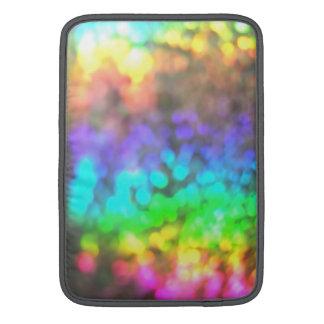 Psychedelic Glitter MacBook Sleeve