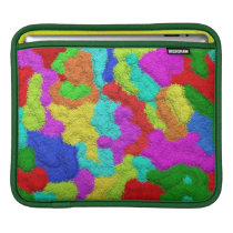 Psychedelic Glitter Pattern iPad Sleeve
