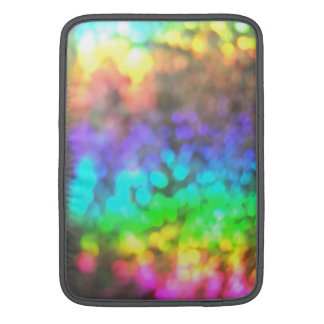 Psychedelic Glitter Sleeve For MacBook Air