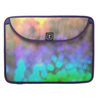 Psychedelic Glitter Sleeves For MacBook Pro