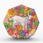 """Psychedelic Goat Award<br><div class=""""desc"""">An adorable kid frolics amid a colorful scene</div>"""