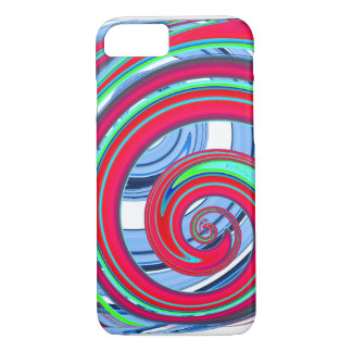 psychedelic| graphic | Art|cool |psychedelia | Hip iPhone 8/7 Case