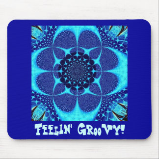 Psychedelic Groovy 3 Mouse Pad