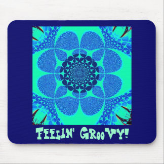Psychedelic Groovy 4 Mouse Pads