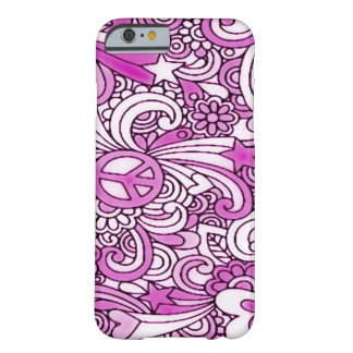 Psychedelic Groovy Gal iPhone 6 Case