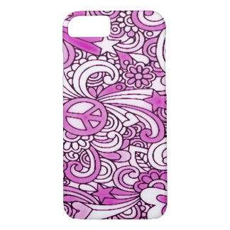 Psychedelic Groovy Gal iPhone 7 Case