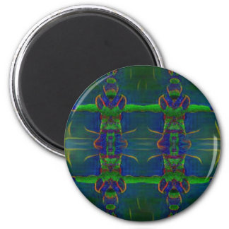 Psychedelic Guards Magnet