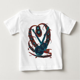 Psychedelic Guitar Baby T-Shirt